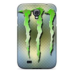 Great Hard Phone Case For Samsung Galaxy S4 With Unique Design Colorful Monster Pictures CristinaKlengenberg