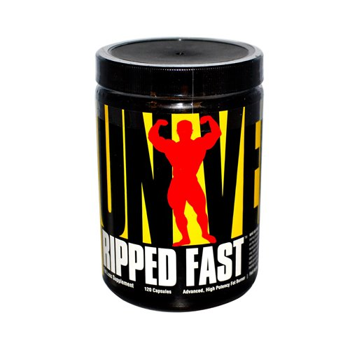 Universal Nutrition Ripped Fast Fat Burner - 120 Capsules