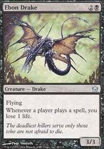 - Magic: the Gathering - Ebon Drake - Fifth Dawn