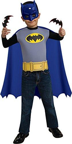 [Rubies Batman The Brave and Bold Child's Costume Set] (Kids Batman And Robin Costumes)