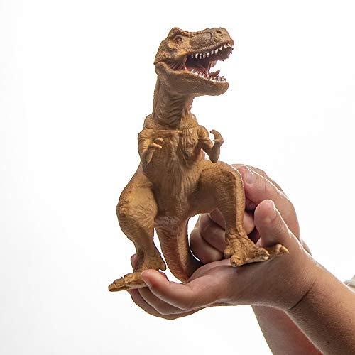 Prextex Realistic Looking 10'' Dinosaurs Pack of 12 Large Plastic Assorted Dinosaur Figures by Prextex (Image #1)