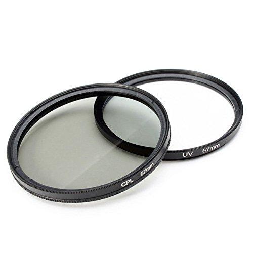 (Uv Lens Filter - Uv Filter Lens - 2Pcs 67MM Lens Filter And Polarizing CPL Filter Kit For (Lens Uv Filter))