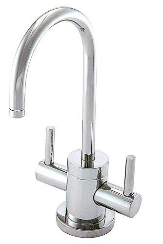 Newport Brass 106/06 Antique Brass East Linear Double Handle Hot / Cold Water Dispenser