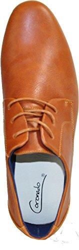 Coronado Heren Casual Schoenen Cole-2 Comfort Zachte Klassieke Oxford Met Een Gewone Teenkameel