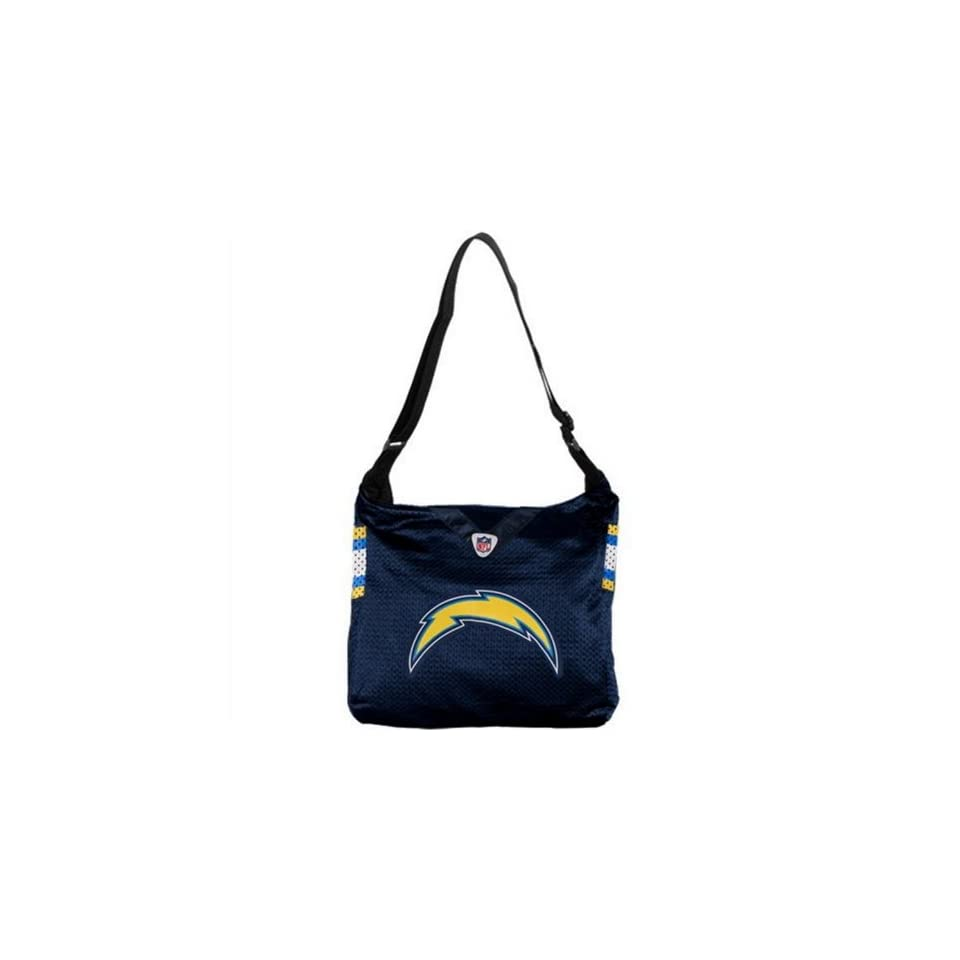SAN DIEGO CHARGERS NFL MVP JERSEY TOTE BAG PURSE NEW LARGE