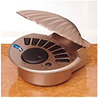 Breezee Soothing Shell Sound Machine - Gold + AC Adapter
