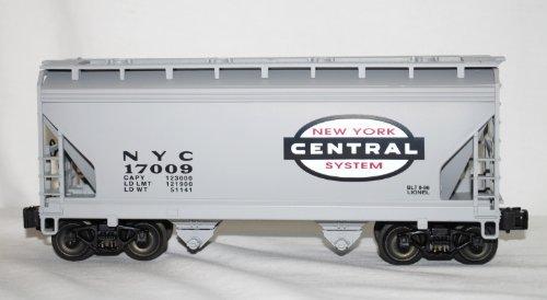 - Lionel 6-17009 New York Central NYC 2 bay hopper #9456 dc metal spr trucks