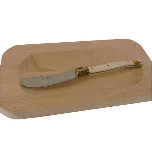 Jean Dubost Laguiole Butter Spreader and Board