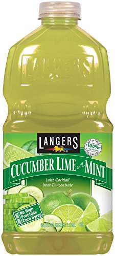 Langers Juice Cocktail, Cucumber Lime With Mint, 64 fl. oz. (Pack Of 8) ()
