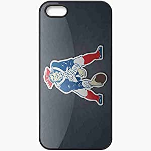 Personalized Diy For SamSung Galaxy S5 Case Cover ell phone Case/Cover Skin 217 new england patriots Black