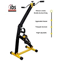 IBS Medical Pedal Exerciser with Double LCD DISPLY for Legs and Arms Workout,Arm & Leg Exercise Peddling Machine.