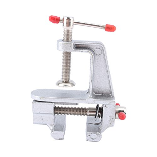 "C-Pioneer 3.5"" Aluminum Miniature Small Jewelers Hobby Clamp"