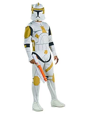 Rubie's Costume Co. Star Wars Animated Clone Trooper Commander Cody Adult Costume Men