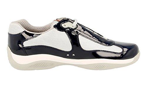 Prada Menns Ps0906 Ø55 F0gwa Skinn Sneaker