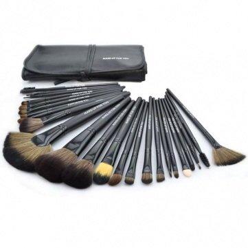 make up for you 24pcs Professional Cosmetic Makeup Brushes Set Kit /color (Pixiwoo Makeup Halloween)