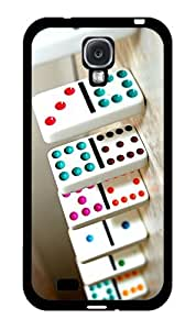 Game of Dominos - Phone Case Back Cover (Galaxy S4 - Plastic) by icecream design