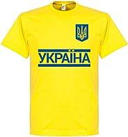 Retake Ukraine Team Tee - Yellow