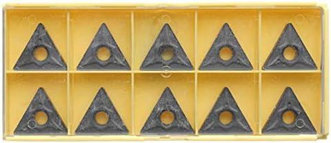 Schneller Austausch des Multi-Werkzeug Zubehör 10 Karbid-Einsätze for Werkzeughalter Drehen, TNMG220408-TF IC907 TNMG432-TF