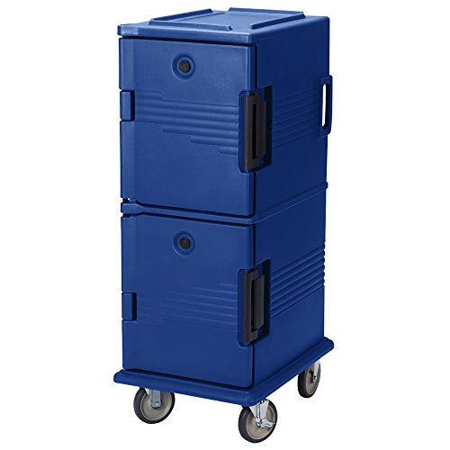 TableTop king UPC800186 Navy Blue Camcart Ultra Pan Carrier - Front - Camcart Blue