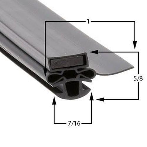 Prtst M722300100 TURBO AIR M722300100 Gasket Tur/Tst48/72 (22.5 X 27) by Turbo Air (Image #1)