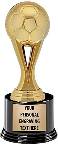 Soccer Trophies - Crown Awards Soccer Trophies with Custom Engraving, 7.25