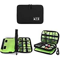 Jelly Comb Travel Cable Storage Bag for Charging Cable, Cellphone, Mini Tablet and More