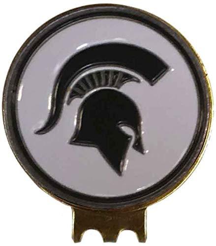 Michigan State Spartans Golf HAT Clip Brass W/Ball Marker