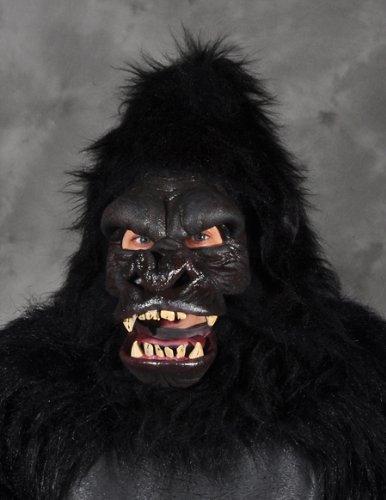 Treehugger Costume (Zagone Tree Hugger Mask, Large Gorilla Head, Moving Mouth)