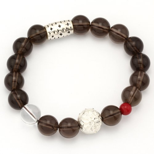 moontide-spring-tea-smoky-quartz-and-quartz-crystal-with-925-sterling-silver-wishing-charm-bracelet-