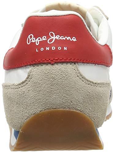 Man Pepe Retro Hombre Para Tahiti Weiß Zapatillas Jeans White 801 801factory q7ttWC1wA