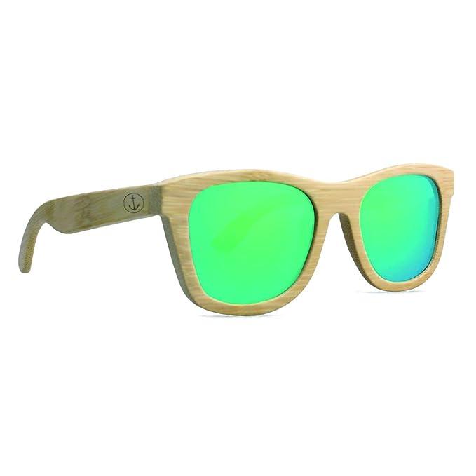 VIENTO Green Kalima Gafas de Sol de Madera (Verde): Amazon.es: Ropa y accesorios