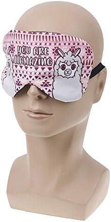 AINIYUE Máscara de Ojos para Dormir,algodón Suave Cute Cartoon Travel Relax máscaras de Ojos para Dormir,para niños y niñas cumpleaños Rojo: Amazon.es: Deportes y aire libre