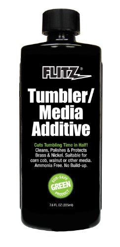 Price comparison product image Flitz TA 04885 Green Tumbler Media Additive, 7.6 oz. Bottle