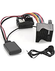 Bluetooth AUX-IN Kabel, Auto Bluetooth 5.0 AUX-IN Kabel Audio Adapter Fit voor Citroen C2/C3/C4/C5/C6 met Microfoon