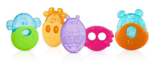 Nuby IcyBite Teether Styles Vary