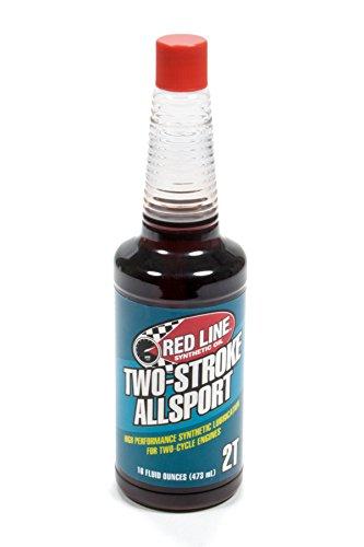 (Redline RED40803 Two Stroke All Sport Oil (16oz), 16. Fluid_Ounces)