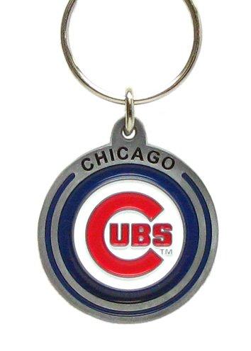 MLB Team Logo zinco Chicago Cubs-Anello portachiavi