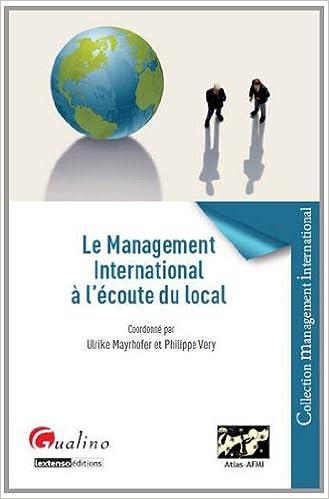 En ligne téléchargement Le Management international à l'écoute du local pdf ebook