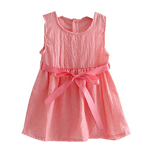 ftsucq-girls-cotton-linen-sleeveless-belt-princess-dresspink-90