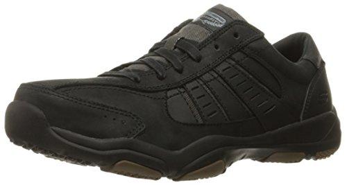 Skechers Larson-Nerick, Zapatillas Para Hombre Negro (BLK)
