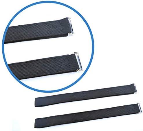 Pilika Remplacement des Sangles de Rechange pour Hoverkart Hover Board Sangle Fixe pour Hoverboard Go Kart,Pack de 2 Sangles(1 Paire