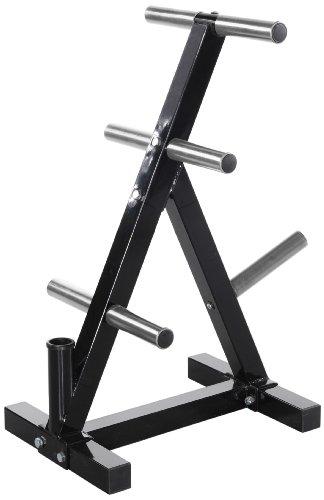 41eWYsBhc8L - Powertec Fitness Workbench Weight Rack, Black
