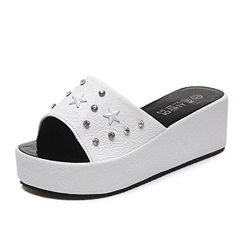 Dony damas zapatillas y gamuza color puro de damas Zapatillas casual Thirty-eight