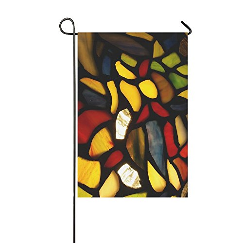 Home Decorative Outdoor Double Sided Tiffany Glass Stained G