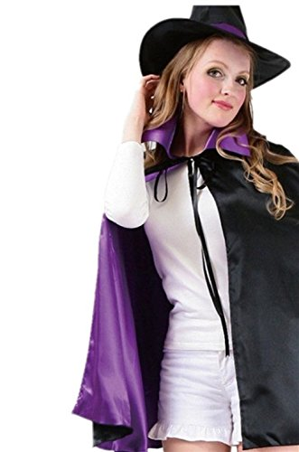 Echofun Cosplay Witch Cloak Adult Children Halloween Costume Sets (Holloween Costume Photos)