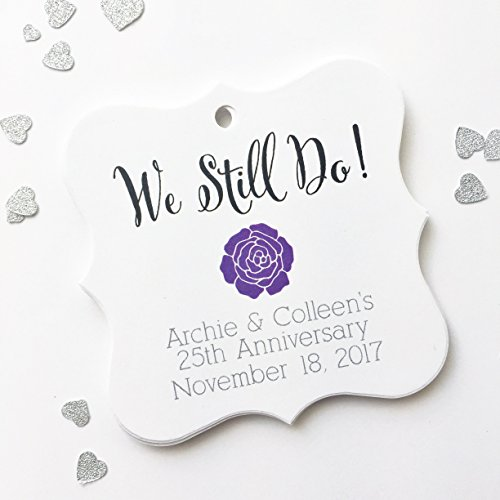 We Still Do Anniversary or Vow Renewal Favor Tags (FS-144-2)