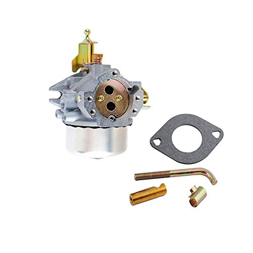 K321 Carb K341 for Kohler Carburetor with Gasket Kit Cast Iron 14HP 16HP Engine John Deere Tractor 316 Club Cadet 1600 1650 Replacement by Podoy