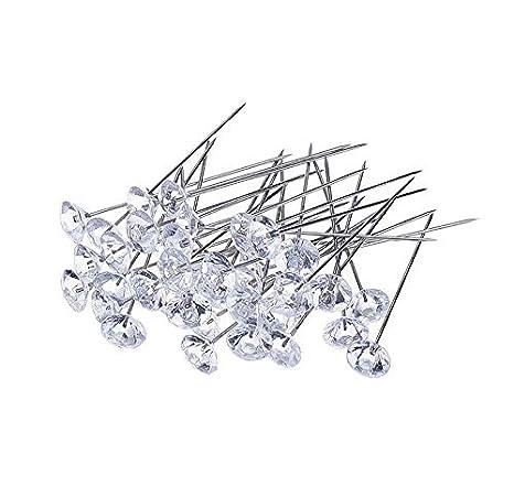 YA-Uzeun - 100 alfileres de corsé con Diamantes de Cristal ...