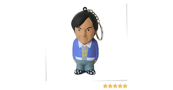 The Big Bang Theory - Rajesh, llavero antiestrés mosquetón, 8 cm (SD Toys SDTWRN89455): Amazon.es: Juguetes y juegos