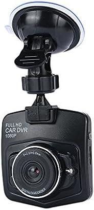 BigFamily Câmera de disco para carro de 2,4 polegadas, câmera de painel 1080p, câmera de painel para carro (az